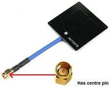 Aomway FPV 5.8Ghz 6dBi Enhanced Mini Panel / Patch Antenna SMA RHCP orangeRX -uk