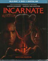 Incarnate (BluRay/DVD 2017) W/ Slipcover. Aaron Eckhart-Carice Van Houten