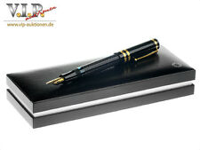 MONTBLANC DOSTOEVSKY LIMITED WRITERS EDITION FÜLLER FOUNTAIN PEN STYLO PLUME NOS
