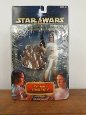 2002 Star Wars Unleashed Padme Amidala Action Figure Statue w/Protective Case
