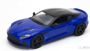 Welly 1:24 Aston Martin DBS Superleggra Diecast Model Sports Racing Car WITH BOX