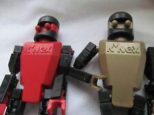 K'Nex K-Force Defense Center Red and Gold Robot lot