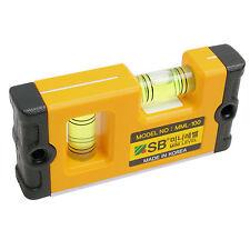 SB Corp MML-100 Pocket Mini Level Plumbers Magnet Hands Tool 100mm