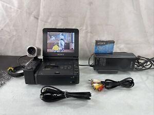 SONY DSR-V10 Mini DV DVCAM Video Player / Recorder W/ Sony CVX-V3 & Attachment