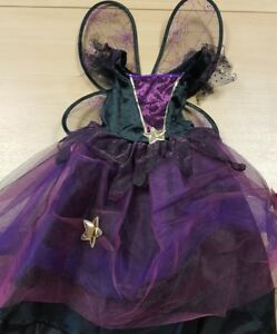 Children's Witch with Wings Fancy Dress Costume Halloween Aged 5-7 New