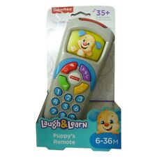 Fisher Price Toy Laugh & Learn Puppy's Remote TV Control TOY NEW