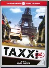 Dvd Taxxi 2 con Marion Cotillard e Samy Naceri 2000 Usato raro