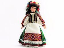 Poupée collection costume folklorique ukrainien H 32 artisanat fait brodé main