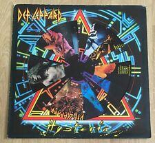 DEF LEPPARD - HYSTERIA Vinyl LP Record, PICTURE DISC, European Tour 1988