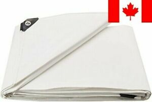 Dry Top 312164 12-by-16-Foot Super Heavy-Duty 10-mm UV Treated Tarp (White)