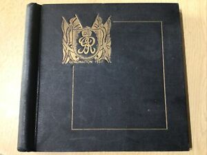 1937 Coronation Omnibus Album  Complete With All 202 Stamps. Mint