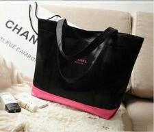 "CHANEL Beauty GIFT Black with Pink "" Classic Tote Bag "" Shoulder bag ""POST FREE"