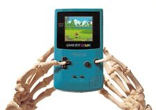 Game Boy Color Skeleton Hands Advertising Postcard Unposted