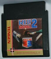 R,B.I. RBI Baseball 2 Cartridge NES Nintendo Game Authentic Tested Good