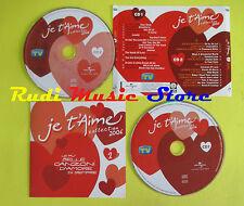 CD JE T'AIME 1 compilation PROMO 2006 ANTONACCI ELTON JHON RENGA CONSOLI (C6)