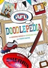 NEW AFL Doodlepedia by Penguin Books Australia FREE Postage