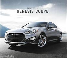 2015 15  Hyundai  Genesis Coupe   original  brochure MINT