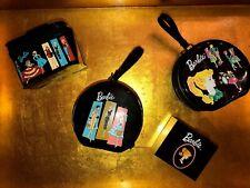 Hallmark ~ Keepsake Ornament Barbie Cases Shopping Bag & Shoes Boxes