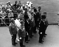 Japanese surrender aboard USS Missouri 8 x 10 World War II WW2 Photo Picture 587