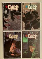 Batman The Cult comic lot from:#1-4 all 4 different books 8.0 VF (1988)