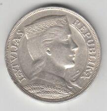 Lettland  5 Lats  1932   Silber