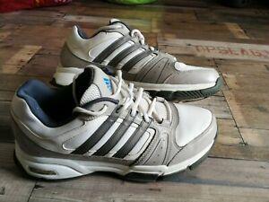 Adidas Adiprene Herren Schuh  Sportschuhe Sneaker Gr 43 US 9 1/2 weiß grau