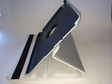360° SILVER Rotating NEW iPad 4 / 3 SMART Leather Cover Case + Protector +Stylus