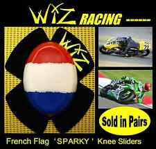 WIZ SPARKY FRENCH FLAG KNEE SLIDERS
