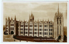 RPPC Postcard Marischal College Aberdeen Scotland UK