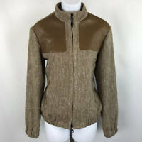 Holland & Holland Brown Herringbone Jacket 8