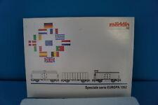"""Marklin Car Set """"Europa 1992"""""""