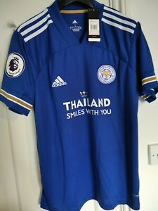 Leicester City Home Shirt 20/21 Size Large