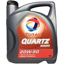 4 Liter Total Quartz 5000 20W-50 Mehrbereichsmotorenöl