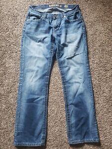 BKE Derek Straight 30R Buckle 100% Cotton Denim Men's Jeans 30 x 32 ABM12002