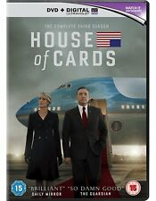 House of Cards: Season 3 (DVD) *NEW & SEALED*