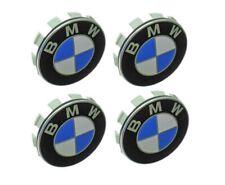 Set of 4 Wheel Center Cap with Emblem 36-13-6-783-536 GENUINE for BMW Brand New