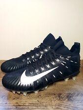 Nike Alpha Menace Elite Nfl Football Cleats Black White 871519-010 Men's Size 11