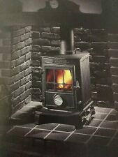 Coalbrookdale Little Wenlock stove glass