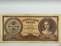 Banknote Hungary - 1 Billion   Pengo 1946 Very Fine  - Circulated