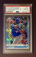 2019 Topps Chrome Xfractor Vladimir Guerrero Jr. Rookie RC #201 PSA 10 GEM MINT