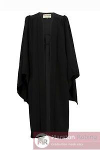 UK Academic Graduation Gown-Bachelor BLACK--BEST SELLER-Virtual Graduation Party