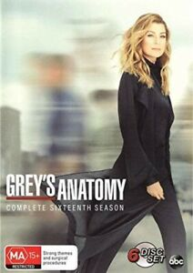Grey´s Anatomy - Staffel 16 Mit Deutsche Ton