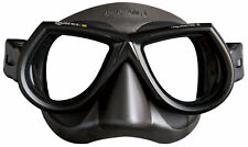 Mares Star Liquidskin Glass Mask Diving Scuba Spearfishing Snorkeling Black