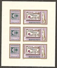 Hongrie Bloc Non Dentelé **MNH YT 2441 x3 expo Arphila75 Philatec Magyar Ungary