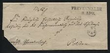 Envelope an Die Royal Government in Potsdam (without Jahr - 1831?) (B04303)