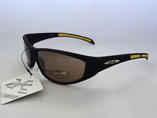 Kid's XLoop Sunglasses YELLOW & MATTE BLACK Boy's Children's Sport Shades New