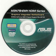 ASUS M3N78-EMH HDMI Motherboard Drivers Installation Disk M2111