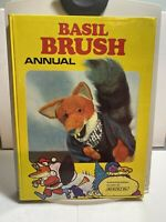 Vintage Basil Brush Annual Hardback Book Collectable As Seen On BBC