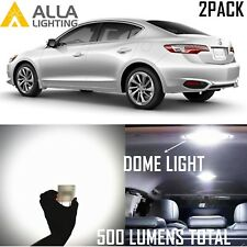 Alla Lighting Dome Interior Overhead Light  DE3175 White LED Bulb Lamp for Acura