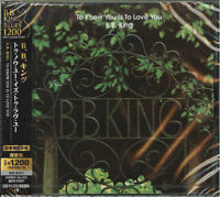 B.B. KING-TO KNOW YOU IS TO LOVE YOU-JAPAN CD Ltd/Ed C15